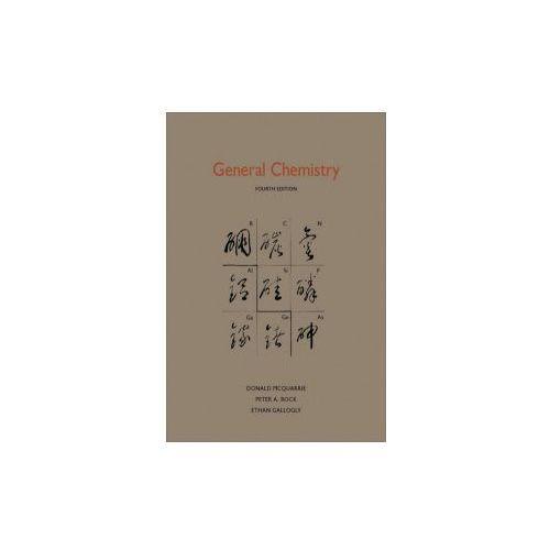 General Chemistry, University Science Books,U.S.