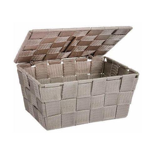 Wenko Organizer z pokrywką adria taupe, pojemnik łazienkowy, (4008838216880)