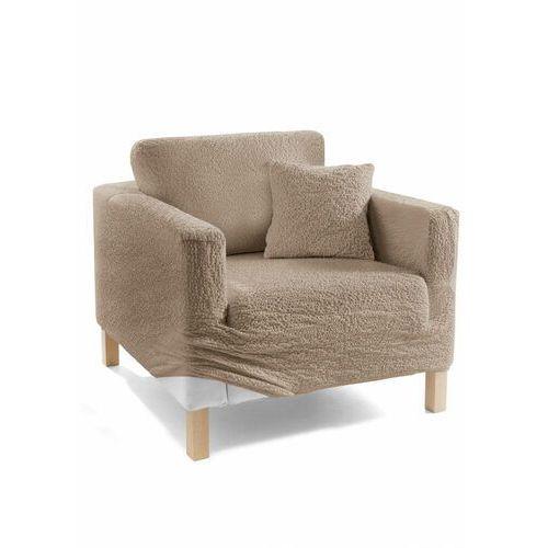Bonprix Pokrowiec/poszewki na poduszki z kreszowanego materiału karmelowy