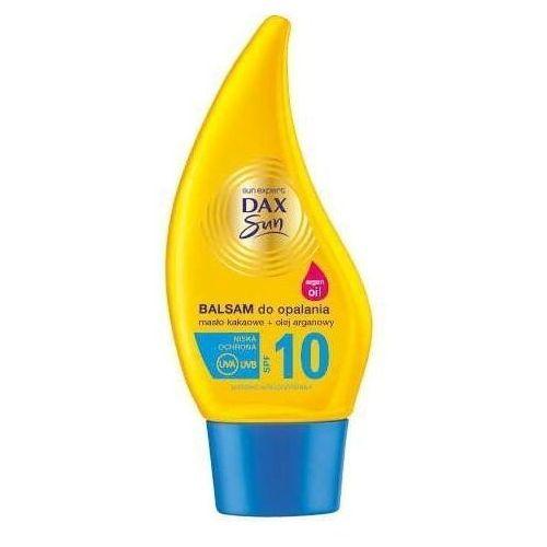 DAX SUN Balsam do opalania z masłem kakaowym i olejem arganowym SPF10 150ml