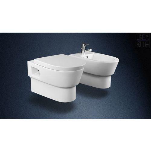 Ceramiczna misa wc i bidet bohemia marki Lineablue