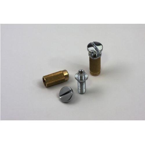 msprs-c - locking studs, części mostka do gitary, chromowane marki Tonepros