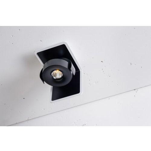 Labra Layer 1 open edge.led 1x7.5w 12d, czarny-biały (4055728148813)