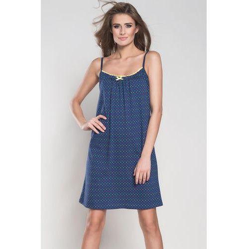 421e5ea8679659 Koszulka nocna koszula nocna model punto ws.r. navy - marki Italian fashion