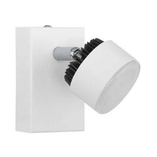 Lampa oprawa ścienna kinkiet armento 1x6w led biała/czarna 93852 marki Eglo