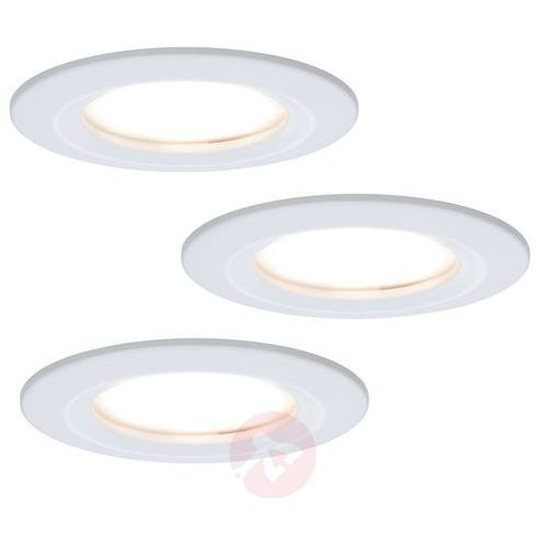 Paulmann 3 reflektory wpuszczane led coin slim, ip44 (4000870938584)