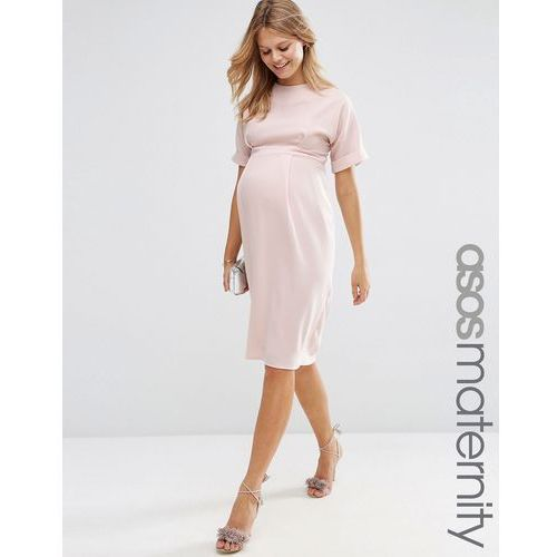 Asos maternity  wiggle dress - pink
