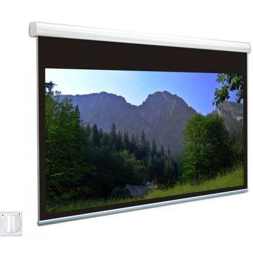 Ekran elektryczny Avers Solaris 400x400cm, 1:1, White Ice