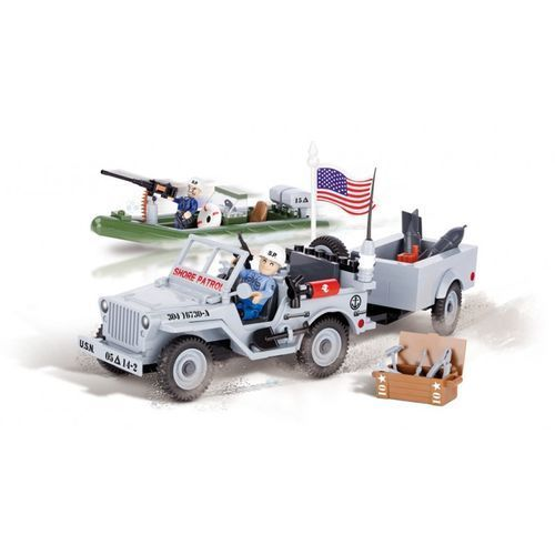Cobi Klocki Jeep Willys MB US Navy