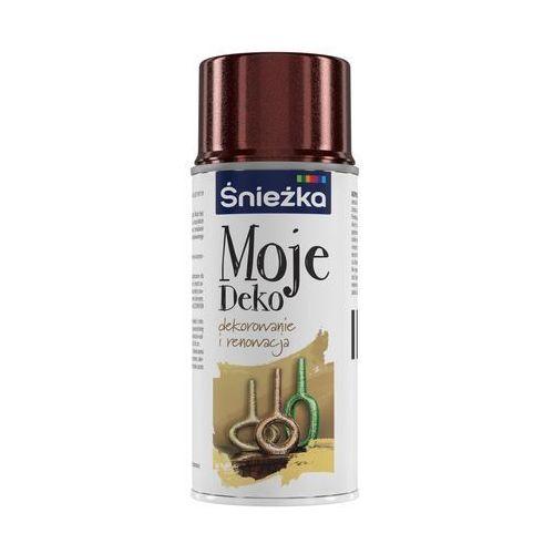 Spray moje deko brązowy d004 150 ml marki Śnieżka