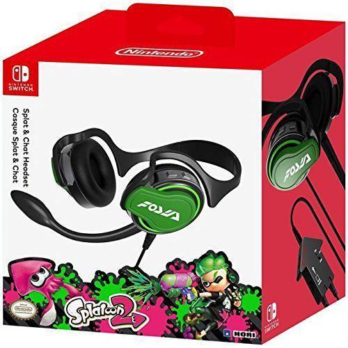 headset splatoon 2 edition / switch marki Nintendo