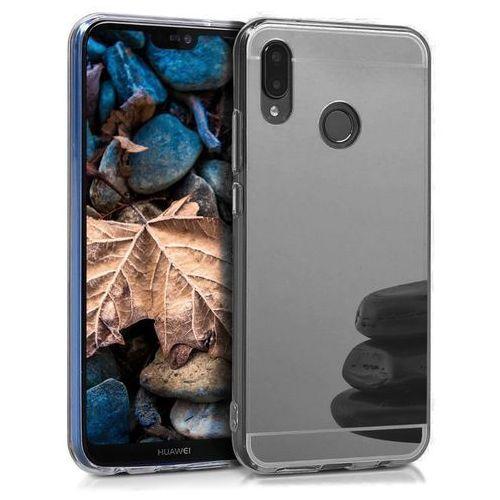 Slim Mirror Case Szary | Etui dla Huawei P20 Lite, kolor szary