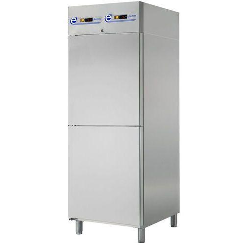 Szafa chłodnicza 700l, stal nierdzewna prawe ecp-702 r marki Asber
