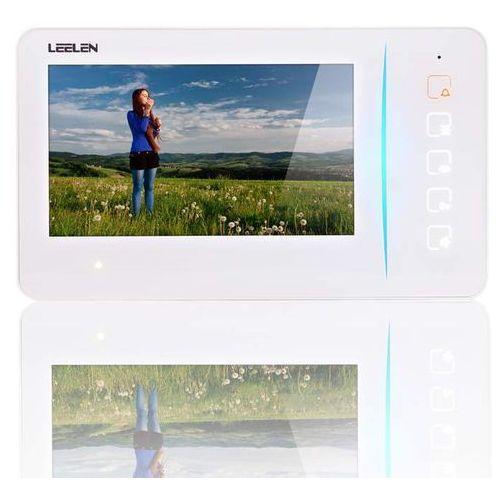 """monitor 7"""" jb305_n60 - dotykowe przyciski: kolor monitora - biały jb305_n60w - autoryzowany partner leelen, automatyczne rabaty. marki Leelen"""