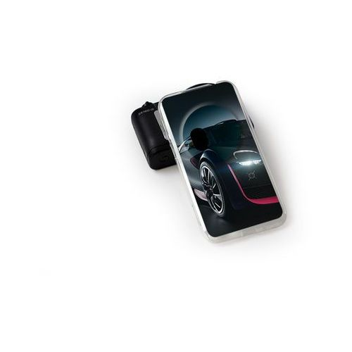 Foto case - asus zenfone zoom - etui na telefon foto case - black car, marki Etuo.pl