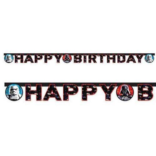 Procos Baner urodzinowy happy birthday star wars - 160 cm - 1 szt. (5201184841693)