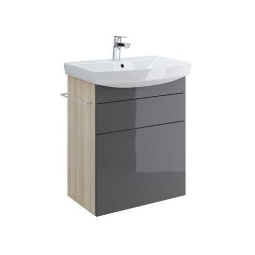 Cersanit szafka smart pod umywalke carina 60 szara