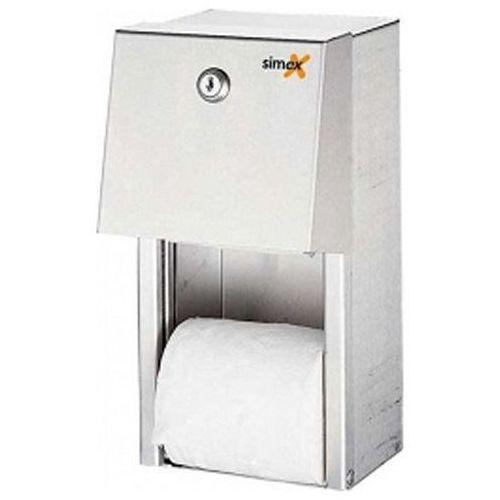 Naścienny pojemnik na papier toaletowy podwójny sn m marki Xxlselect