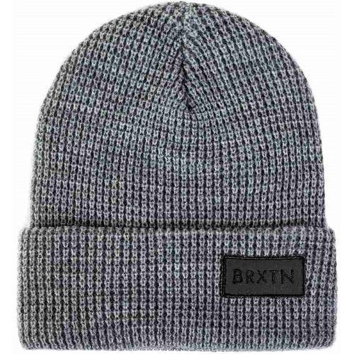 czapka zimowa BRIXTON - Rift Light Heather Grey/Black 0371 (0371) rozmiar: OS, kolor czarny
