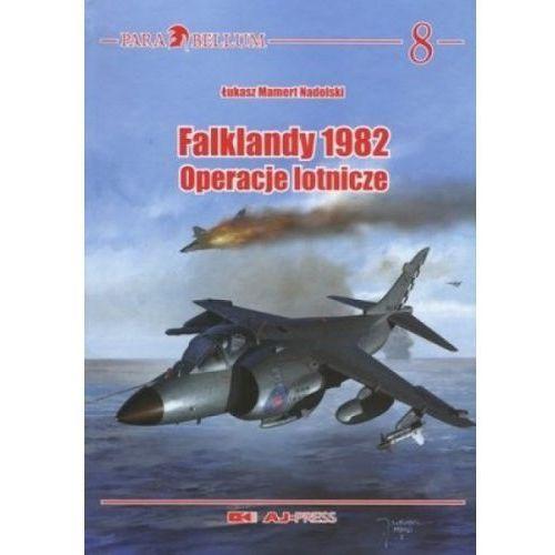 Falklandy 1982. Operacje Lotnicze, książka z kategorii Historia
