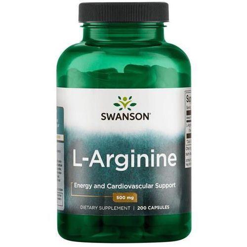 Swanson health products Swanson l-arginina 500 mg 200 kapsułek