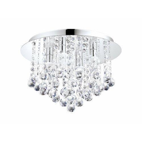 Eglo Plafon almonte 94878 lampa sufitowa 4x2,5w g9 led ip44 chrom