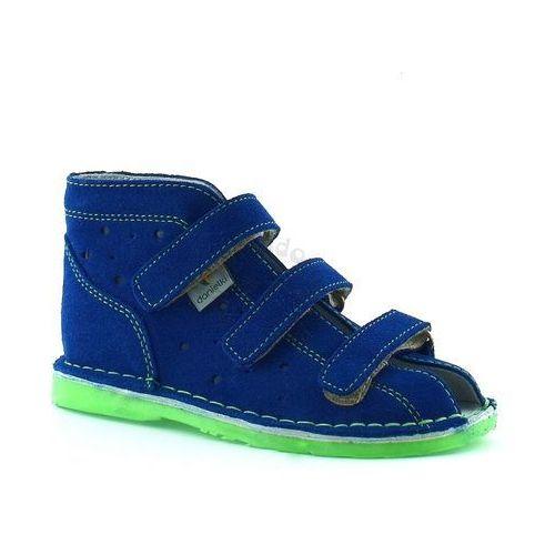 Trzewiki profilaktyczne Danielki TX105/115 Blue Fluoz - Zielony   Niebieski