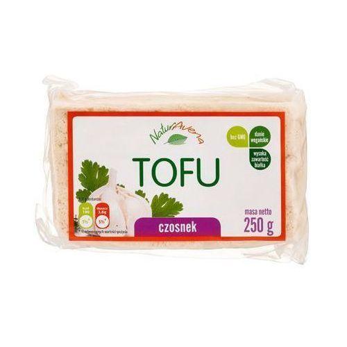 250g tofu kostka z czosnkiem marki Naturavena