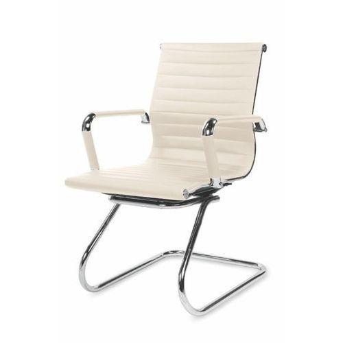 Dignity fotel gabinetowy kremowy marki Style furniture