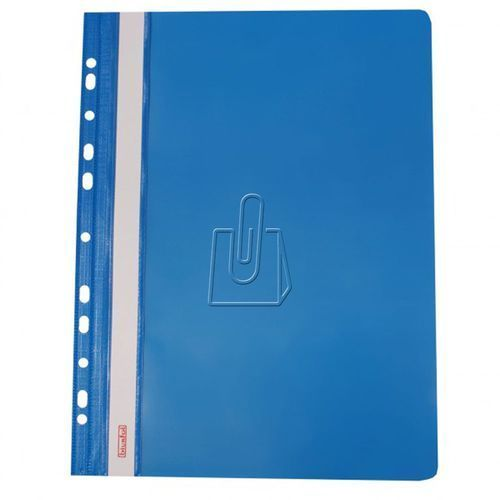 Skoroszyt BIURFOL A4 zawieszany op.10 - niebieski (5907214200637)