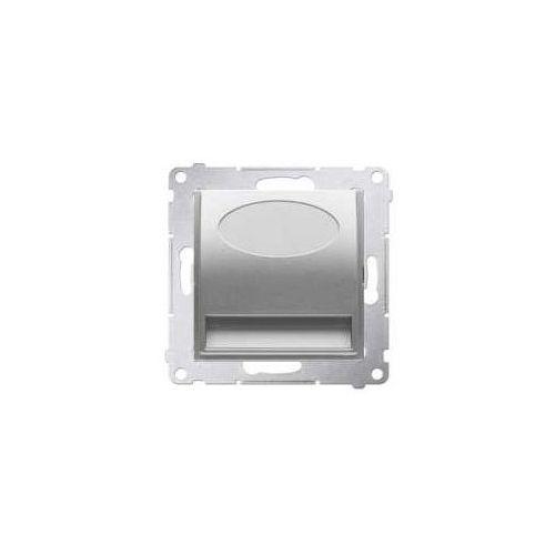 Oprawa oświetleniowa Simon 54 DOS14.01/43 schodowa LED 14V srebrny mat Kontakt-Simon (5902787850425)