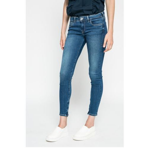 - jeansy cher marki Pepe jeans
