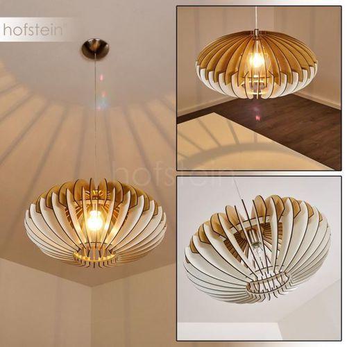 Hofstein Valkom lampa wisząca nikiel matowy, 1-punktowy - vintage - obszar wewnętrzny - valkom - czas dostawy: od 3-6 dni roboczych
