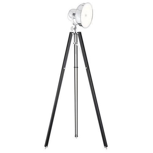 Lampa podłogowa Argon Foto 3355 NEW fotograficzna 12W LED czarna/chrom