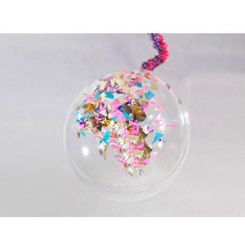 Balon strzelający olbrzym pastelowy i dodatki