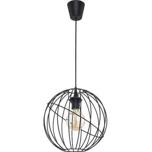 Tk lighting Żyrandol na drutu orbita black 1xe27/60w/230v