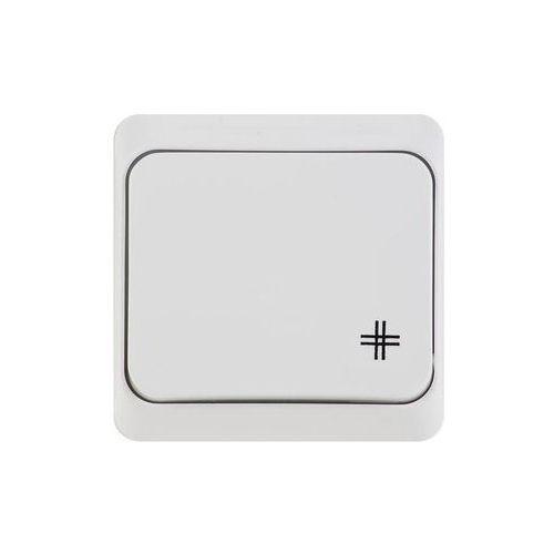 Elektro-plast nasielsk Hermes łącznik krzyżowy elektro-plast biały ip44 łnt-7 0338-02 (5901130484041)