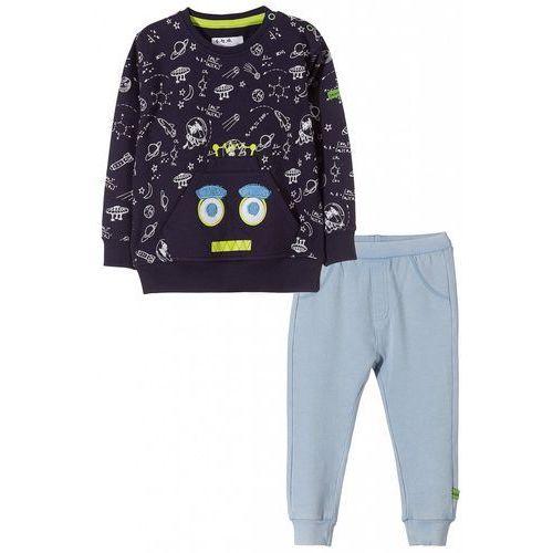 Komplet niemowlęcy bluza i spodnie5p3509 marki 5.10.15.