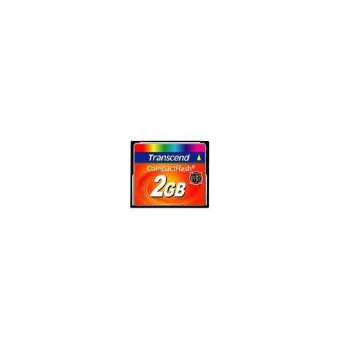 Karta pamięci Transcend Compact Flash 133x 2GB, T-2133X