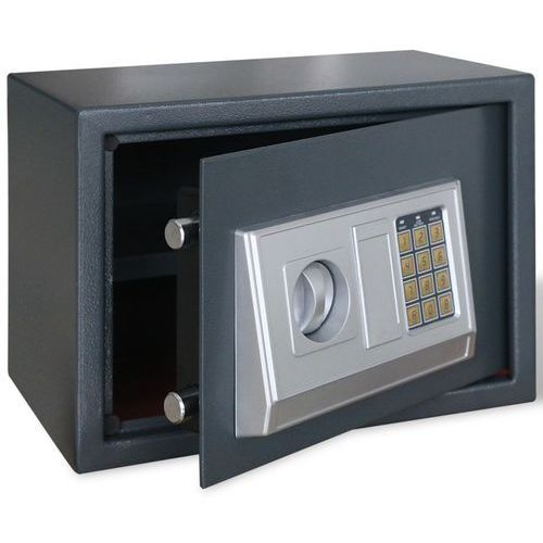 elektroniczny sejf cyfrowy z półką 35 x 25 cm marki Vidaxl