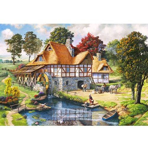 Puzzle 2000 Water Mill Cottage CASTOR, AM_5904438200498