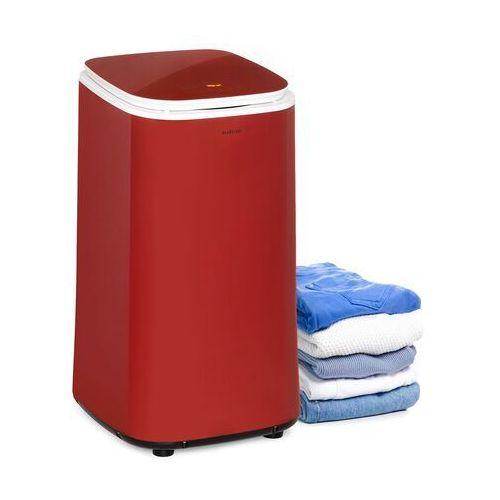 zap dry, suszarka na pranie, 820 w, 50 l, dotykowy panel sterowania, wyświetlacz led, czerwona marki Klarstein