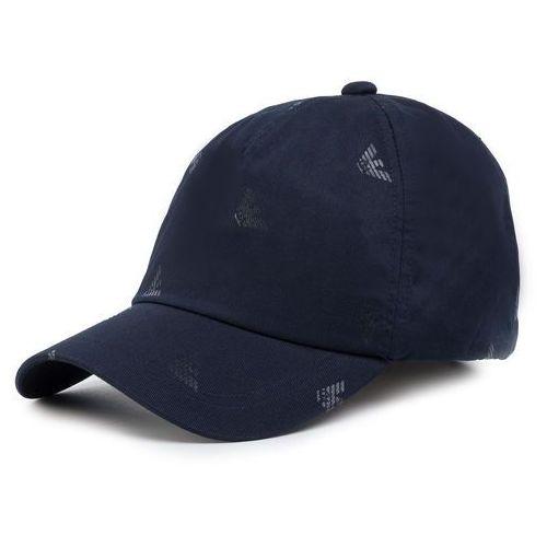 Czapka z daszkiem EMPORIO ARMANI - 627900 CC993 00035 Blu Navy, kolor niebieski