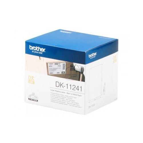 etykiety, wysyłkowe (duże) 102 mm. x 152 mm. dk-11241, dk11241 marki Brother