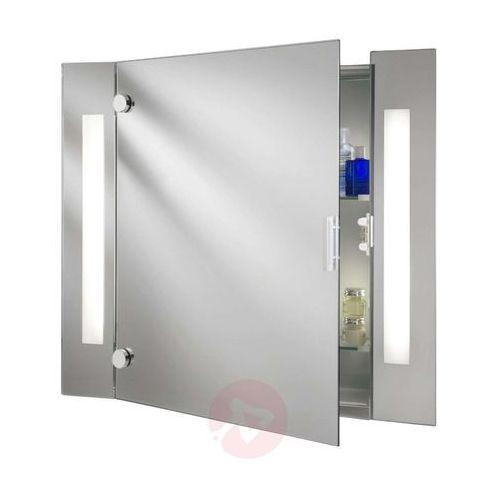 Nowoczesna szafka z lustrem silva z oświetleniem marki Searchlight
