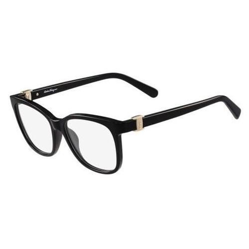 Salvatore ferragamo Okulary korekcyjne sf 2760 001