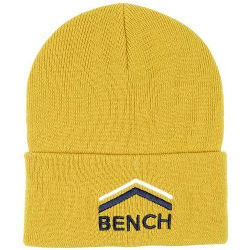czapka z daszkiem BENCH - Turn Up Beanie With Graphic Antique Moss (KH029) rozmiar: OS