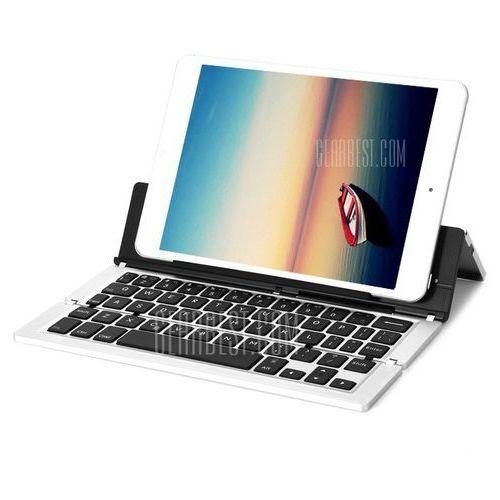 Gearbest F18 aluminum alloy foldable wireless bluetooth 3.0 keyboard