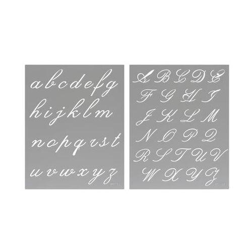 Szablon samoprzylepny alfabet l nr 718 marki Jeger