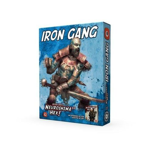 Gra Neuroshima Hex 3.0: Iron Gang - DARMOWA DOSTAWA OD 199 ZŁ!!!, GXP-648974